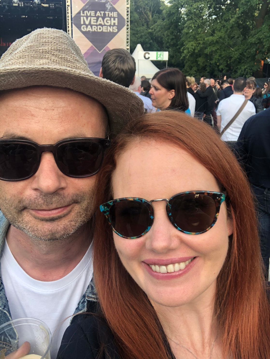 Garbage fans at Iveagh Gardens